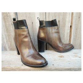 Sartore-Sartore p boots 40,5-Brown,Black