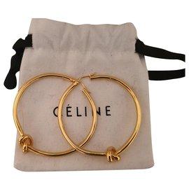 Céline-Earrings-Golden
