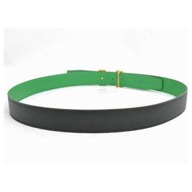 Hermès-Hermes Belt-Green