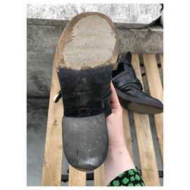 Balenciaga-Belt Boots-Black