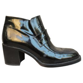 Free Lance-Free Lance p patent ankle boots 37-Black