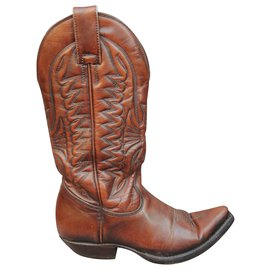Mexicana-Mexicana p santiags boots 36-Light brown