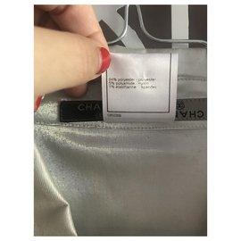 Chanel-Jackets-Silvery