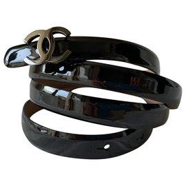 Chanel-Belts-Black