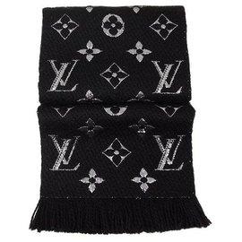 Louis Vuitton-Louis Vuitton Scarf-Black