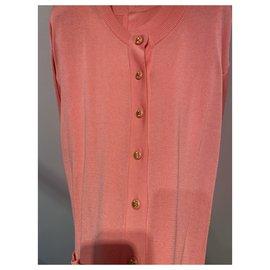 Chanel-Knitwear-Pink