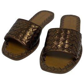 Bottega Veneta-woven sandals-Other