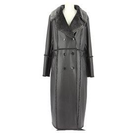 Balmain-Coat-Black