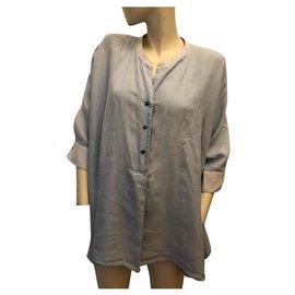 Weekend Max Mara-Oversize shirt-Light blue