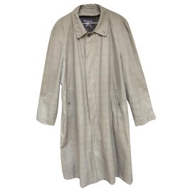Burberry-raincoat man Burberry vintage t 56 Prince of Wales-Grey