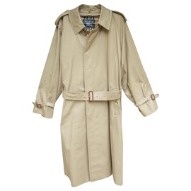 Burberry-raincoat man Burberry vintage t 50 with removable wool lining, New condition-Beige