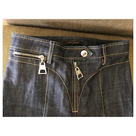 Louis Vuitton-jeans-Bleu foncé