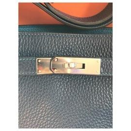 Hermès-Hermès So Kelly 22 Éclat-Bleu Marine