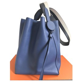 Hermès-Licol 17 Sac-Bleu