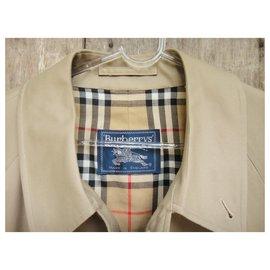 Burberry-Men Coats Outerwear-Beige