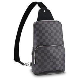 Louis Vuitton-LV Avenue bumbag new-Grey