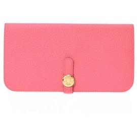 Hermès-Hermes wallet-Pink