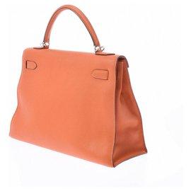 Hermès-hermes kelly-Orange