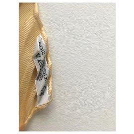 Hermès-Silk scarves-Beige,Orange