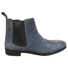 Jean Louis Scherrer-Jean-Louis Scherrer p ankle boots 41-Grey