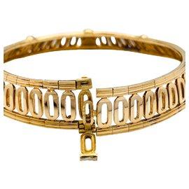 "Cartier-Collier torque Cartier, ""Scarabée"", en or jaune.-Autre"