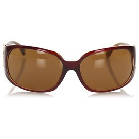 Chanel-Chanel Brown Tinted CC Sunglasses-Brown