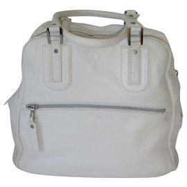 Longchamp-Large Cosmos handbag-White