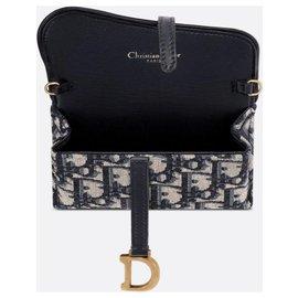 Dior-Selle Dior Pochette Nano Neuf-Bleu