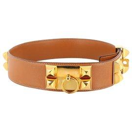Hermès-Hermes Belt-Brown