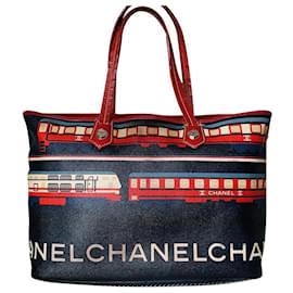 Chanel-Le Train-Red,Blue
