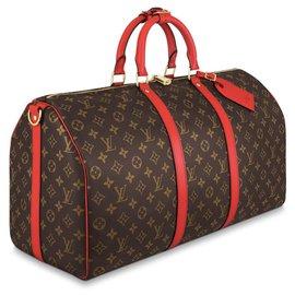 Louis Vuitton-LV Keepall 50 NEW-Marron
