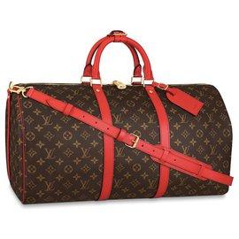 Louis Vuitton-LV Keepall 50 NEW-Brown