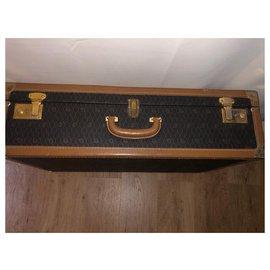 Christian Dior-Christian Dior Vintage Luggage-Beige