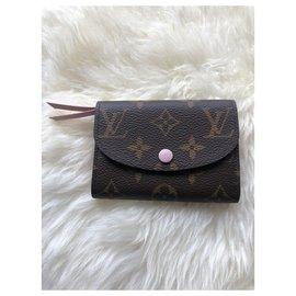 Louis Vuitton-LV Rosalie wallet new-Brown
