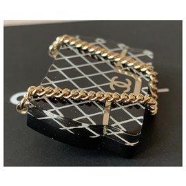 Chanel-Chanel Black/white/gold Resin Classic Flap Bag Brooch Pin-Black
