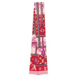 Louis Vuitton-Foulards de soie-Multicolore