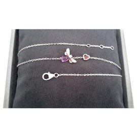 """Chaumet-""""Catch me if you love me""""-Silver hardware"""