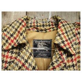 Burberry-Burbery women's vintage trench-cut coat, T 38-Multiple colors