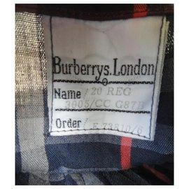 Burberry-Burberry woman raincoat vintage t 48-Navy blue