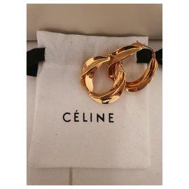 Céline-Boucles d'oreilles-Doré