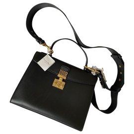 Christian Dior-Dioraddict Top handle bag-Black