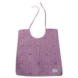 Hermès-HERMES Avalon Pink cotton bib very good condition-Pink