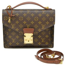 Louis Vuitton-Louis Vuitton Monceau-Marron