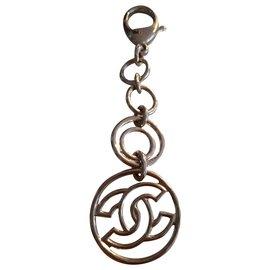 Chanel-Chanel keychain new-Golden