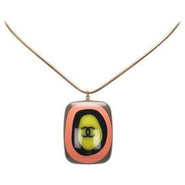 Chanel-Chanel Multi CC Pendant Necklace-Multiple colors
