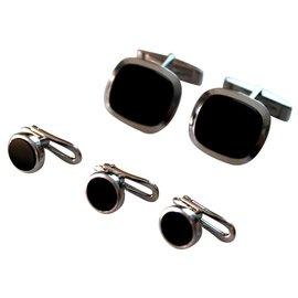 Autre Marque-Cufflinks-Black