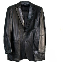 Brioni-Blazers Jackets-Black