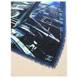 Chanel-Sciarpa Chanel-Multicolore