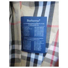 Burberry-Burberry jacket size 40-Beige