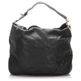Gucci-Sac cabas en cuir noir Charlotte Gucci-Noir